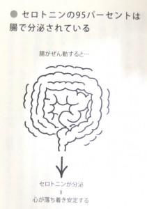 """『心と体を変える """"底力"""" は """"腸"""" にある 腸脳力』, p. 141 より"""