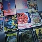 ハマー・フィルム怪奇コレクション、クローネンバーグ、ホラー・SFモンスター・怪獣・エロティック映画のDVDを多数買入れしました