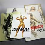 スパイダーマン、バットマン、ヘルボーイ、スポーンなどアメリカン・コミックス(日本語版)や空山基と韮沢靖の画集、洋画DVDを買受!