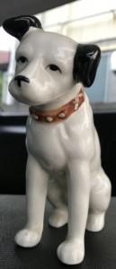 ビクター犬の置物