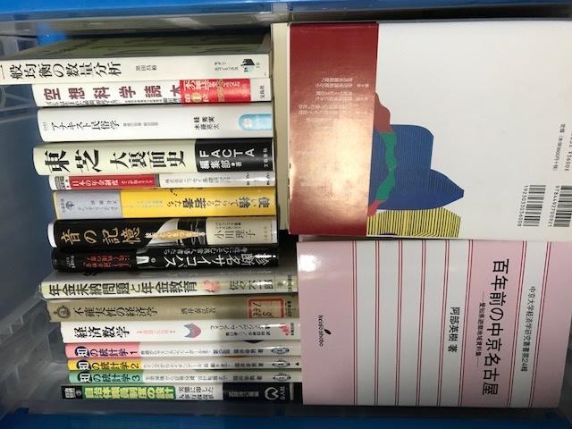 千代田区のお客様より、社会科学の学術書、絵画などをお譲りいただきました。